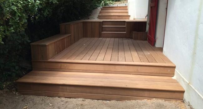 terrasse bois IPE
